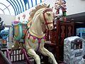 Indoor horse ride at Harbour Park Littlehampton.jpg
