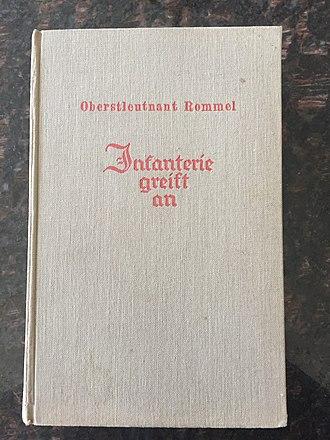 """Infantry Attacks - Rommel's book """"Infanterie greift an"""""""