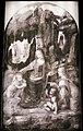 Infrared reflectograms of the Virgin of the Rocks by Leonardo da Vinci.jpg