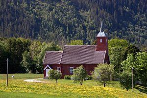 Ingdalen Chapel - Image: Ingdalen kirke Agdenes