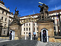 Ingresso del castello di Praga.JPG