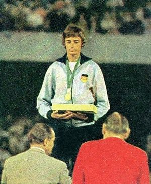 Ingrid Becker - Becker at the 1968 Olympics
