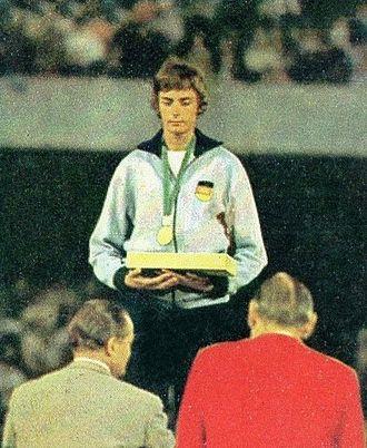 Ingrid Becker - Becker at the 1968 Olympics