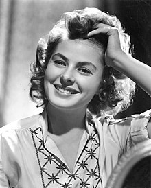 Publicity photo for film Gaslight (1944)