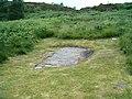 Inscribed stone above Cairnbaan - geograph.org.uk - 198158.jpg