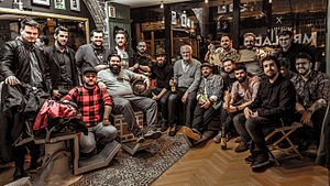 "Barber - Barbershop in Bucharest around 2016. Men find the lost comradery between their peers, inside such ""new traditional"" barbershops, a revival of the old ones."