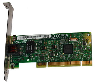 Gigabit Ethernet - Intel PRO/1000 GT PCI network interface controller