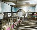 Interior, Edifjord church, ca. 1915. (3613052749).jpg