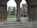 Interior, Elgin Cathedral (2) - geograph.org.uk - 1287804.jpg