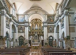 Santa Maria Zobenigo - Interior view.