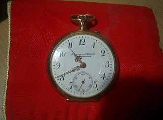 International Watch Company - International Watch Company - early 20th century example of fob watch