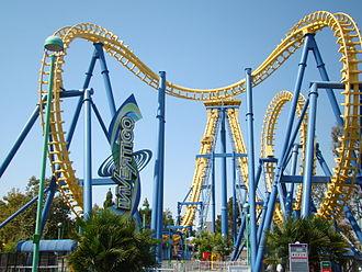 Boomerang (roller coaster) - Stinger when it was known as Invertigo at California's Great America