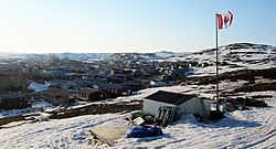 Iqaluit from Joamie Hill in June 2010
