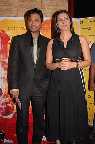 Irrfan Khan - Irrfan Khan at Premiere of The Namesake with Tabu