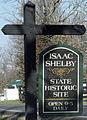 Isaac Shelby Cemetery SHS entrance sign.jpg