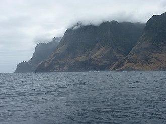 Alejandro Selkirk Island - A view of Alejandro Selkirk Island