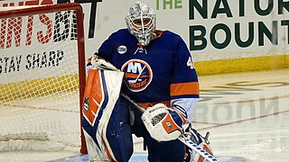 Robin Lehner Swedish ice hockey player