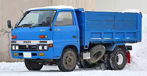 The third generation Isuzu Elf