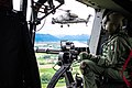 "Italian Army - 7th Army Aviation Regiment ""Vega"" NH90 helicopter door gunner with a GAU-17-A Minigun during exercise Kinetic I-2020.jpg"