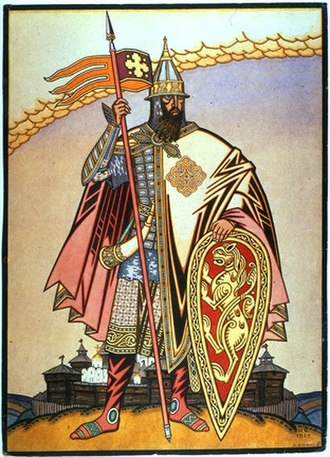 Igor Svyatoslavich - Prince Igor by Ivan Bilibin