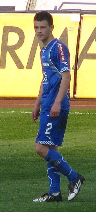 Ivan Tomečak - Tomečak with Dinamo Zagreb in 2009