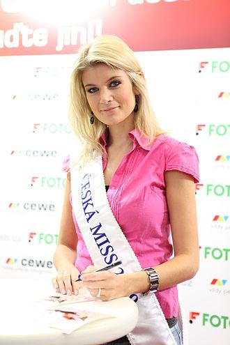 Czech Miss - Iveta Lutovská, Czech Miss 2009, Top 10 at Miss Universe