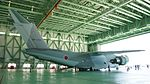 JASDF C-2(68-1203) right rear view at Miho Air Base May 28, 2017.jpg