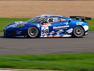 JMB Racing - A JMB Racing Ferrari F430 GT2 which competed in the Le Mans Series