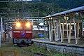 JRE Cassiopeia at Matsushima Station 2016-10-10 (30051338313).jpg