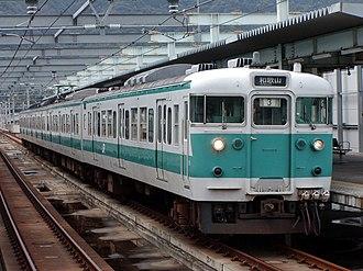 113 series - Image: JRW series 113 Kinokuni