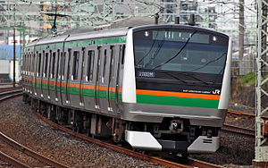 JR East E233 series EMU 3021.JPG