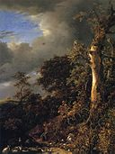 Jacob van Ruisdael - Blasted Oak near a Pond.jpg