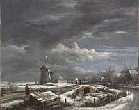 Jacob van Ruisdael - Winter Landscape - PMA Cat. 569.jpg