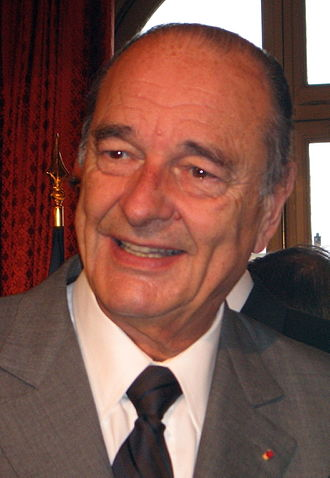 2002 French presidential election - Image: Jacques Chirac 2 (cropped)