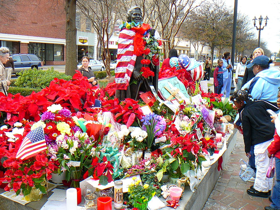 James Brown Memorial 1