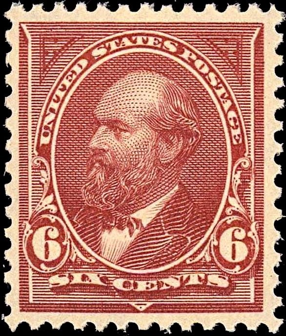 James Garfield2 1894 Issue-6c