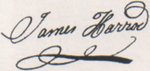 James Harrod signature.png