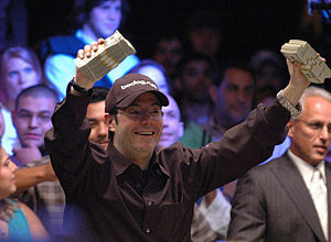 Jamie Gold - Jamie Gold after winning the 2006 World Series of Poker main event.