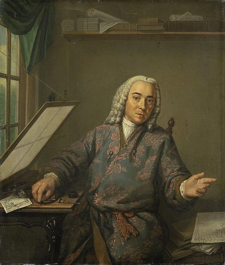 Portrait of the Engraver Jan Casper Philips