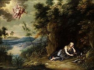 Jan van Balen - Mary Magdalene as a hermit