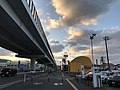 Japan National Route 202 and Fukuoka Express Circular Route near Kamo Station.jpg
