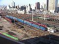 Japan Railway JRKyushu Hohi-Kyudai Rail yard 1.jpg