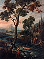 Jean-Baptiste Juppin & Emond Plumier, Lichaam van Maternus komt in een boot aandrijven (1722).jpg