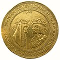 Jeanne-la-Folle et Charles-Quint 100 ducats Aragon 1528.jpg