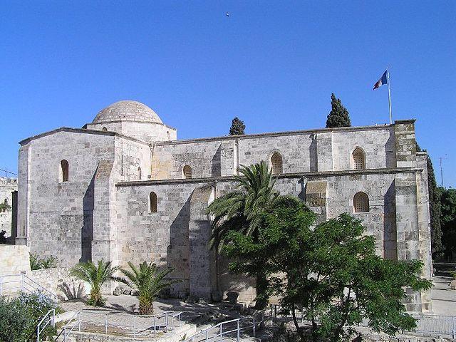 Базилика Святой Анны в Иерусалиме, XII век. Построена на том месте, где, согласно католическому преданию, родилась Богородица