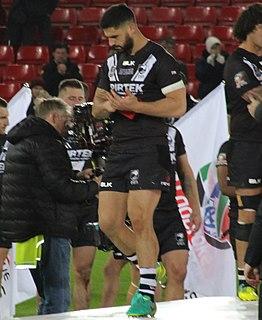Jesse Bromwich New Zealand & Maori international rugby league footballer