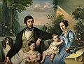 Jožef Tominc - Pietro Stanislao Parisi z družino.jpg