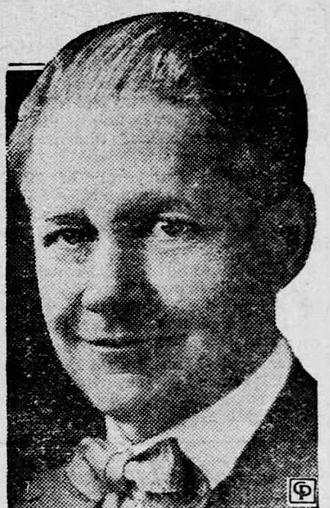 Joe Crail - Joe Crail, California Congressman.