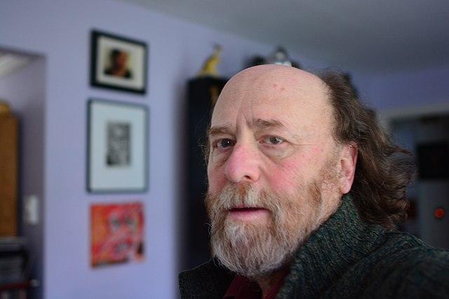 Self-portrait photograph, January 2021