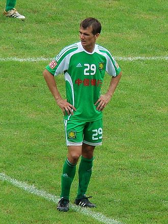 Joel Griffiths - Griffiths playing for Beijing Guoan in 2009